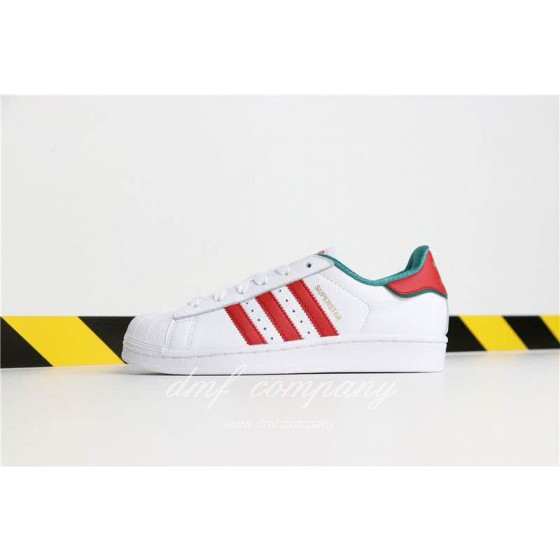 Adidas SUPERSTAR White and Red Men/Women