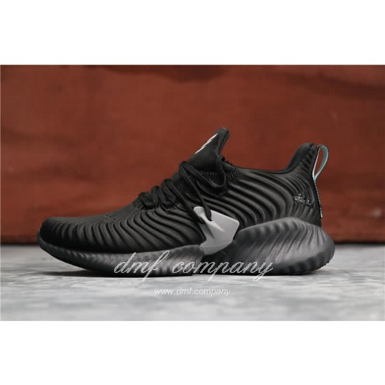 Adidas Alpha Bounce Black And Grey Men And Women