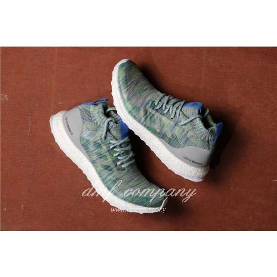 Adidas Ultra Boost Atr Mid UB3.0 Men Women Blue Green Shoes