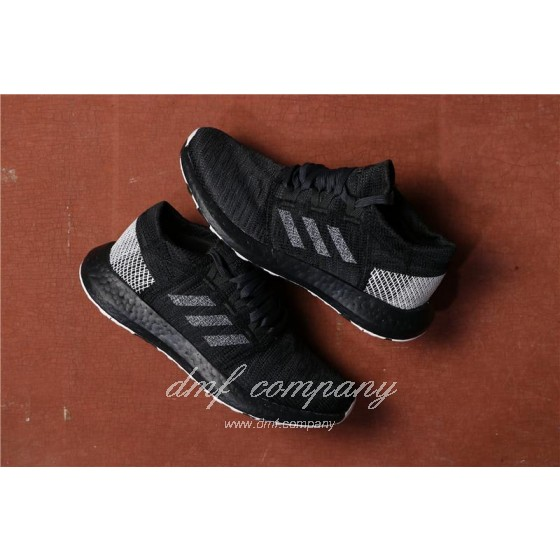 Adidas  Pure Boost Men Black Shoes