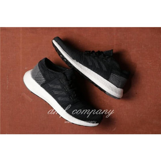 Adidas  Pure Boost Men And  Women Black