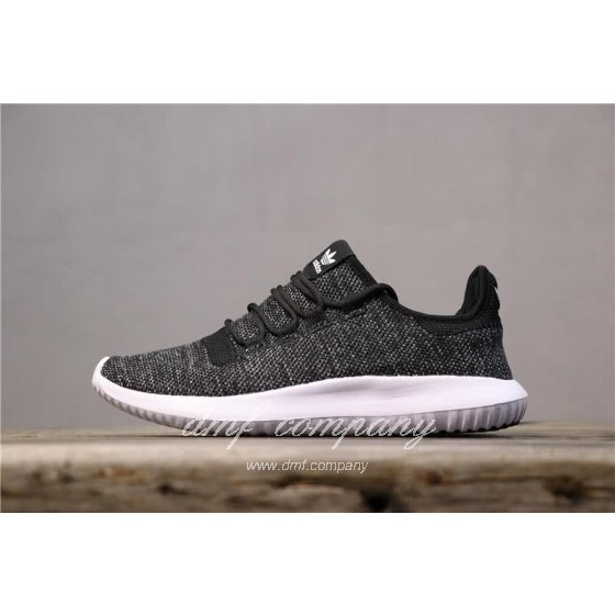 Adidas Tubular Shadow Black Upper White Sole Men And Women