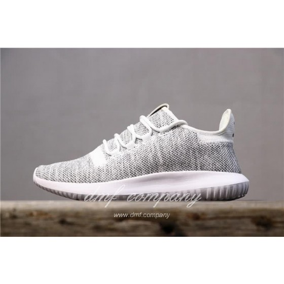 Adidas Tubular Shadow Grey Upper And White Sole Men And Women