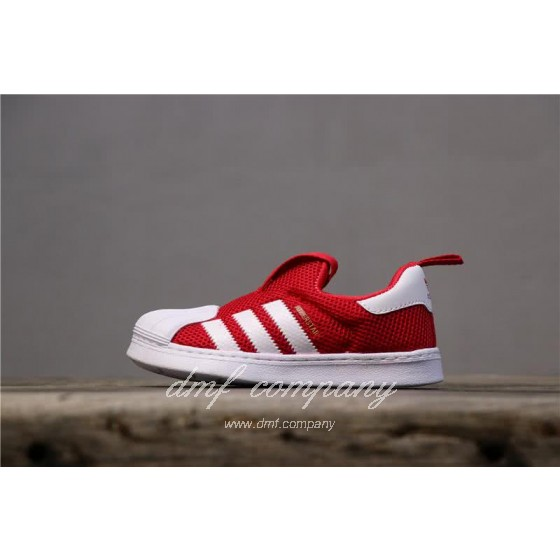 Adidas SUPERSTAR 360 Ⅰ Red and White Kids