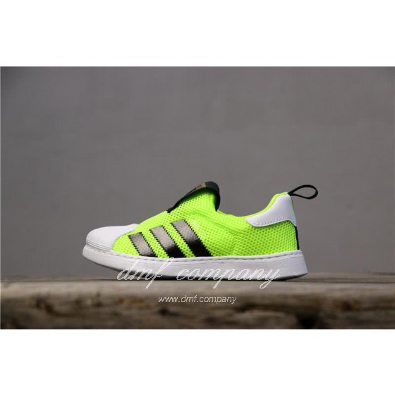 Adidas SUPERSTAR 360 Ⅰ Fluorescent Green Kids
