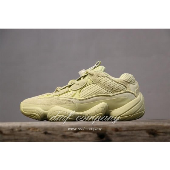 Adidas Yeezy Desert Rat 500 All Yellow Men And Women