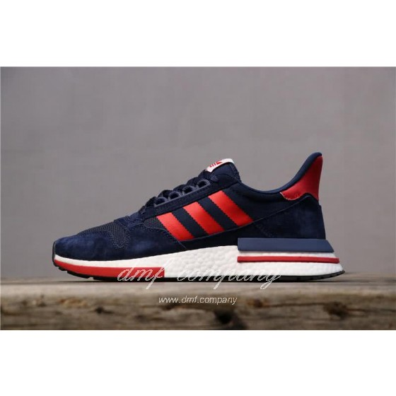 Adidas ZX500 RM Boost Black Red And White Men And Women