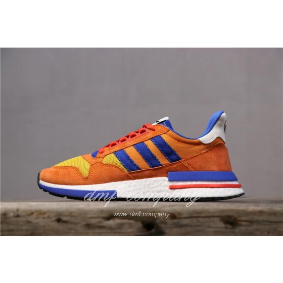 Adidas ZX500 RM Boost Orange Blue And Yellow Men And Women