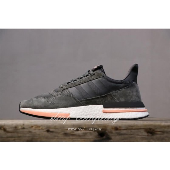 Adidas ZX500 RM Boost Black White And Pink Men And Women