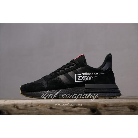 Adidas ZX500 RM Boost Black And Red Men And Women