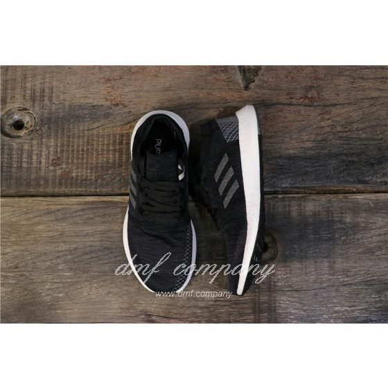 adidas Pure Boost Black Men Women Shoes