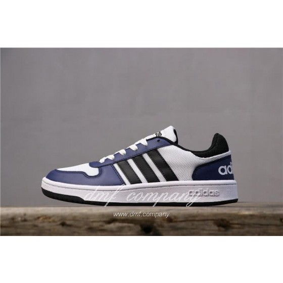 Adidas NEO Black and Blue Men/Women