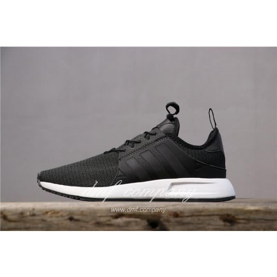 Adidas PW Human Race NMD Black Upper And White Sole Men And Women