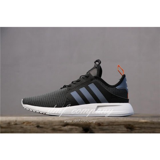 Adidas PW Human Race NMD Black Grey Upper White Sole Men And Women