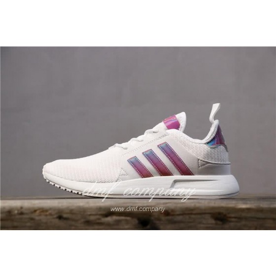 Adidas PW Human Race NMD White Pink And Black Men And Women