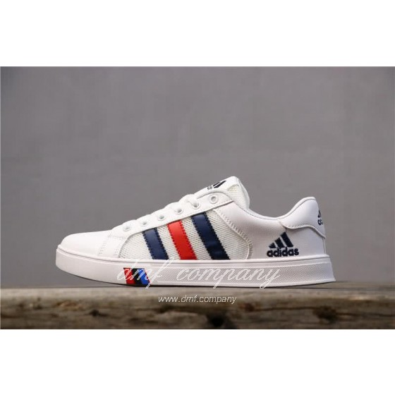 Adidas NEO White/Black/Red Men/Women