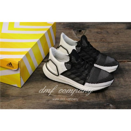 Adidas Ultra BOOST 19W UB19 B75879 Men/Women Black/White