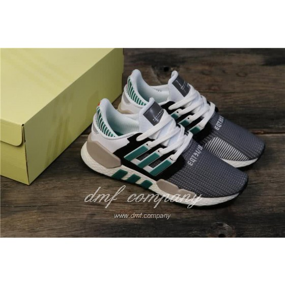 Adidas Eqt Bask Adv Grey White Black And Green Men And Women