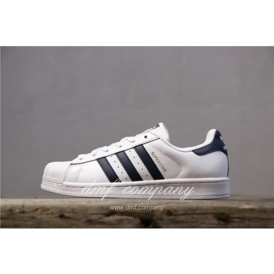Adidas Originals Superstar White/Blue Men/Women