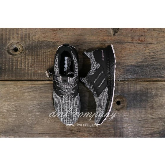 Adidas Ultra Boost 4.0 Men Women Black White Shoes