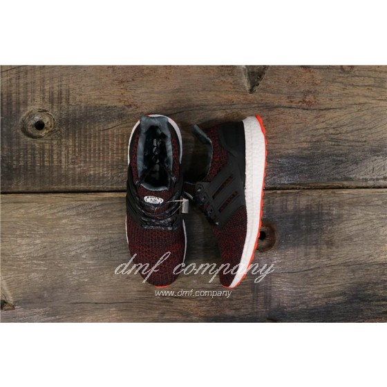 Adidas Ultra Boost 4.0 Men Women Black Red Shoes