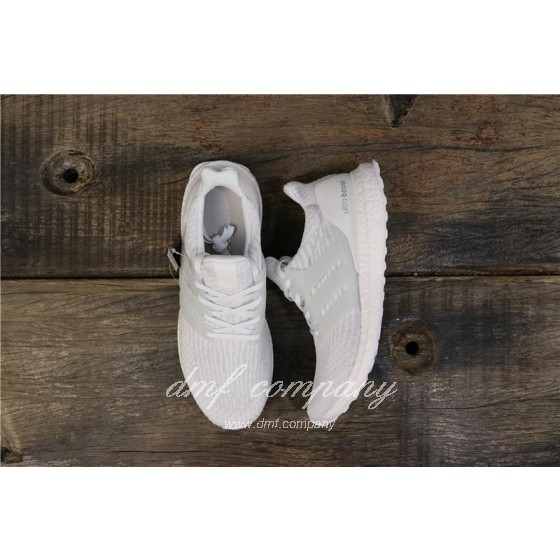 Adidas Ultra Boost 3.0 Men Women White Shoes