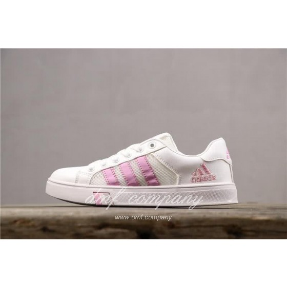 Adidas NEO Shoes White/Pink Women