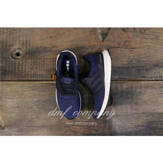Adidas Ultra Boost 4.0 Men Women Blue Shoes