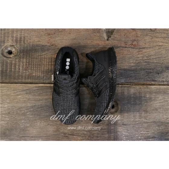 Adidas Ultra Boost 4.0 Men Women Black Shoes