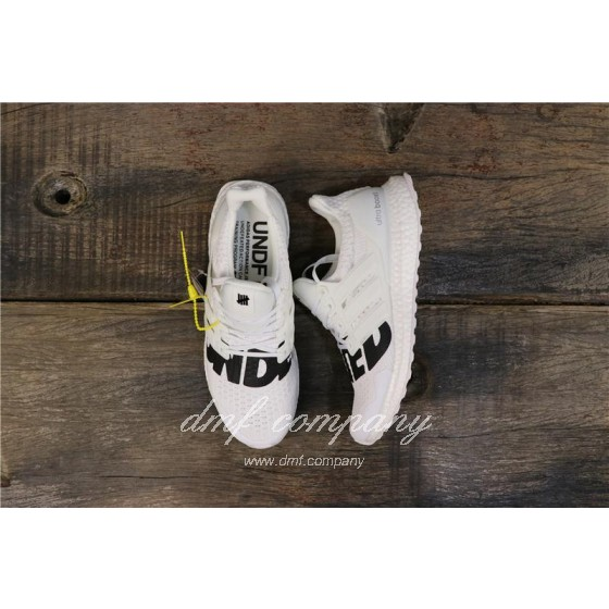 Adidas x Undefeated Ultra Boost 4.0 Men Women White Shoes