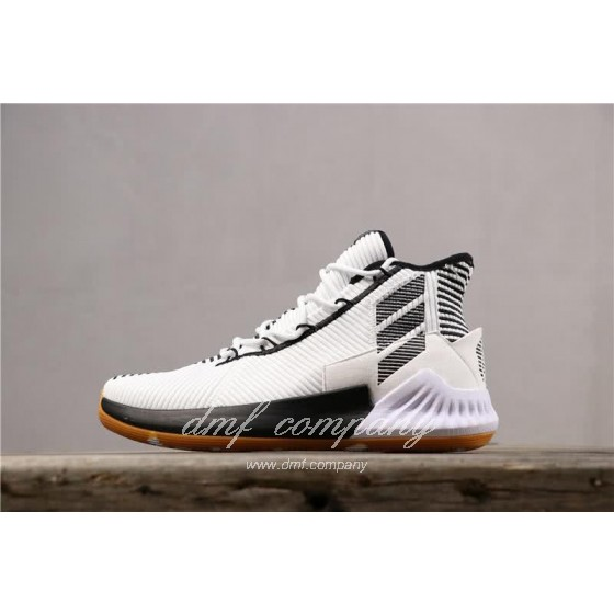 ADIDAS D Rose 9 Shoes Black/White Men