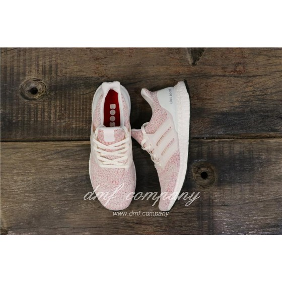 Adidas Ultra Boost 4.0 Men Women Pink Shoes
