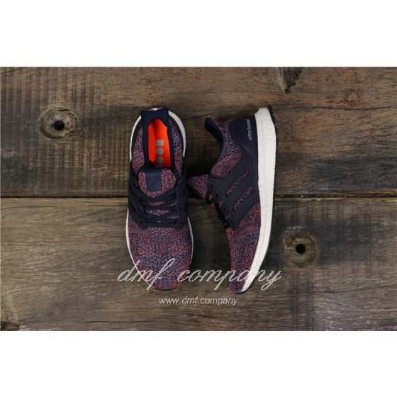 Adidas Ultra Boost 4.0 Men Blue Red Shoes