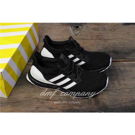 Adidas Ultra Boost 4.0 Men White Black Shoes