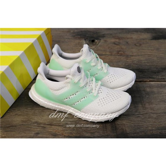 Adidas Ultra Boost TUANYUAN Men White Green Shoes