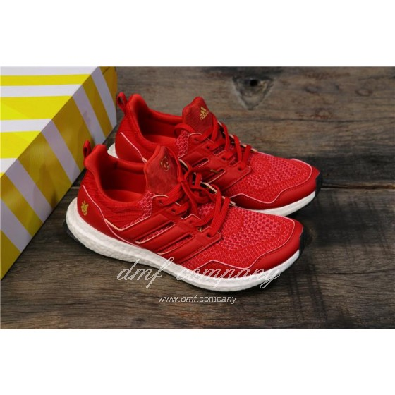Eddie Huang X Adidas Ultra Boost 4.0 Men Red Shoes