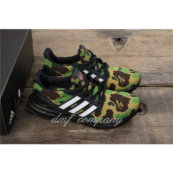 Adidas Ultra Boost 4.0 Men Women Black Green Shoes