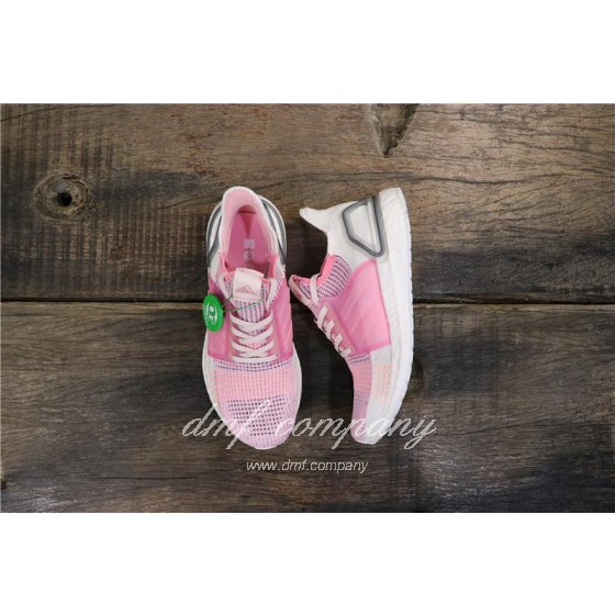 Adidas Ultra BOOST 19W UB19 Women Pink White Shoes