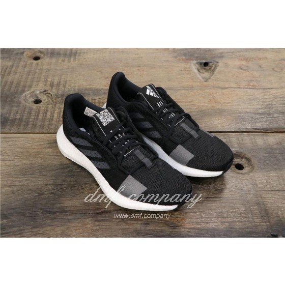 Adidas Sense Boost GO Men Women Black Shoes