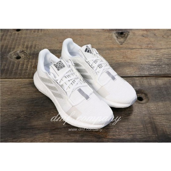 Adidas Sense Boost GO Men White Shoes