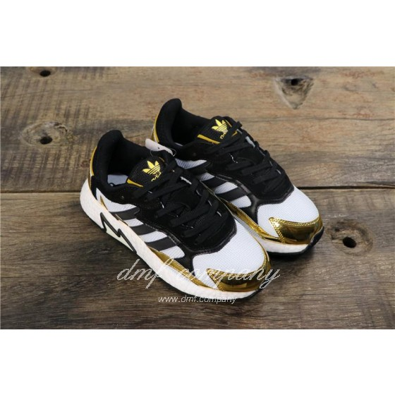 Adidas Tresc Run Women Men Black Gold White Shoes