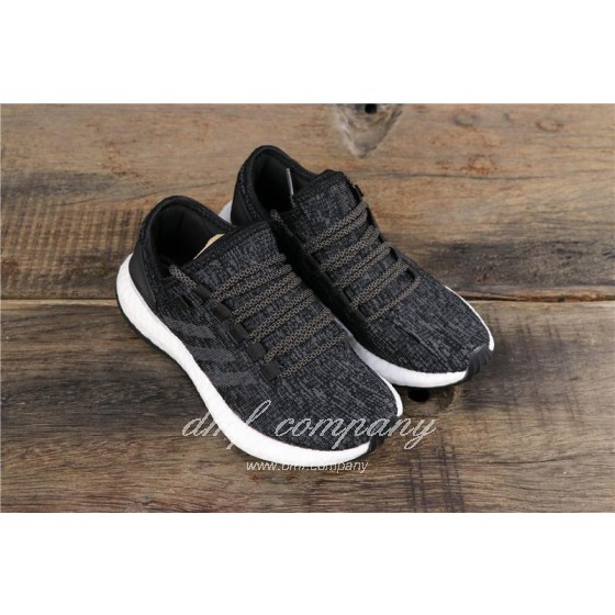 Adidas Pure Boost Men Women Black Shoes