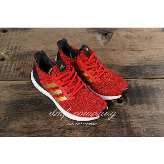 Adidas Ultra Boost x GOT Men Red Shoes