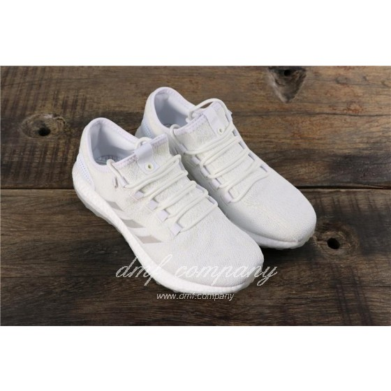 adidas Pure Boost S.E UB Men Women White Shoes
