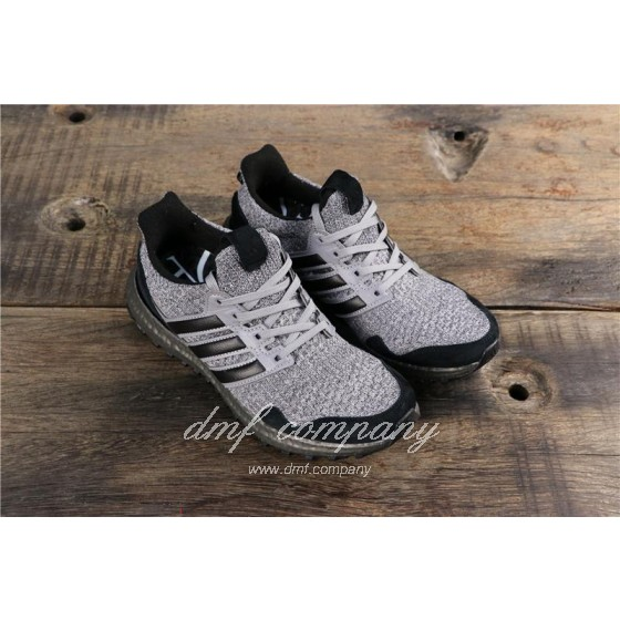Adidas Ultra Boost x GOT Men Black Grey Shoes