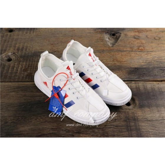 Adidas Extaball M Men White Blue Red Shoes