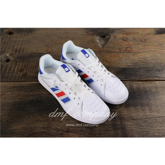 Adidas Vrx Low Men Women White Blue Red Shoes