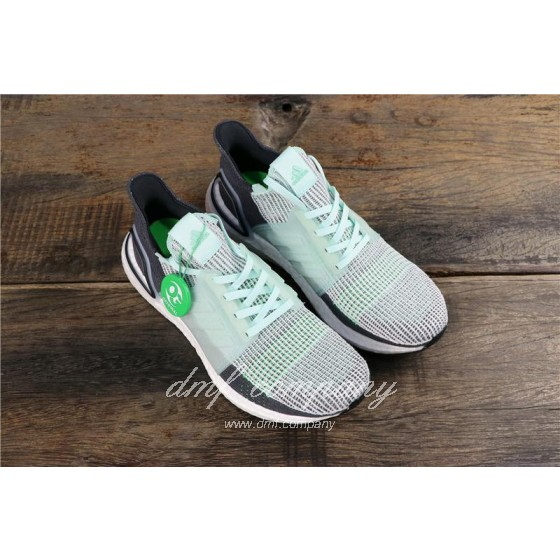 Adidas Ultra Boost 19 Men Women Green Shoes