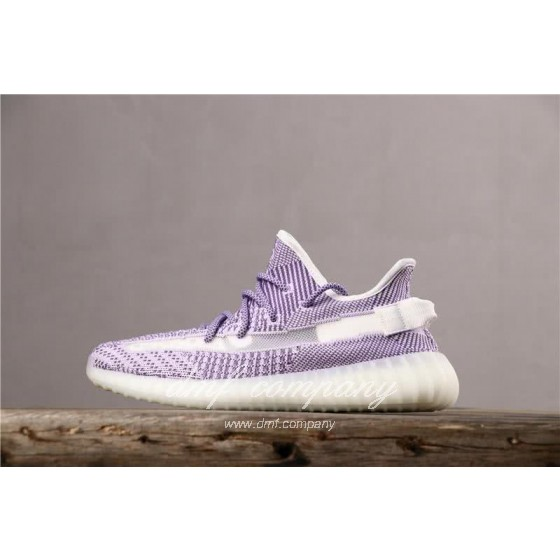Adidas Yeezy Boost 350 V2 Men Women White Purple Shoes