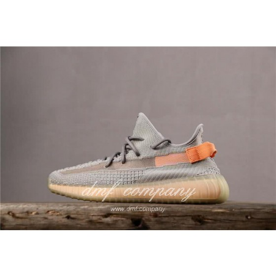 adidas Yeezy Boost 350 V2 Men Women Grey Orange Shoes